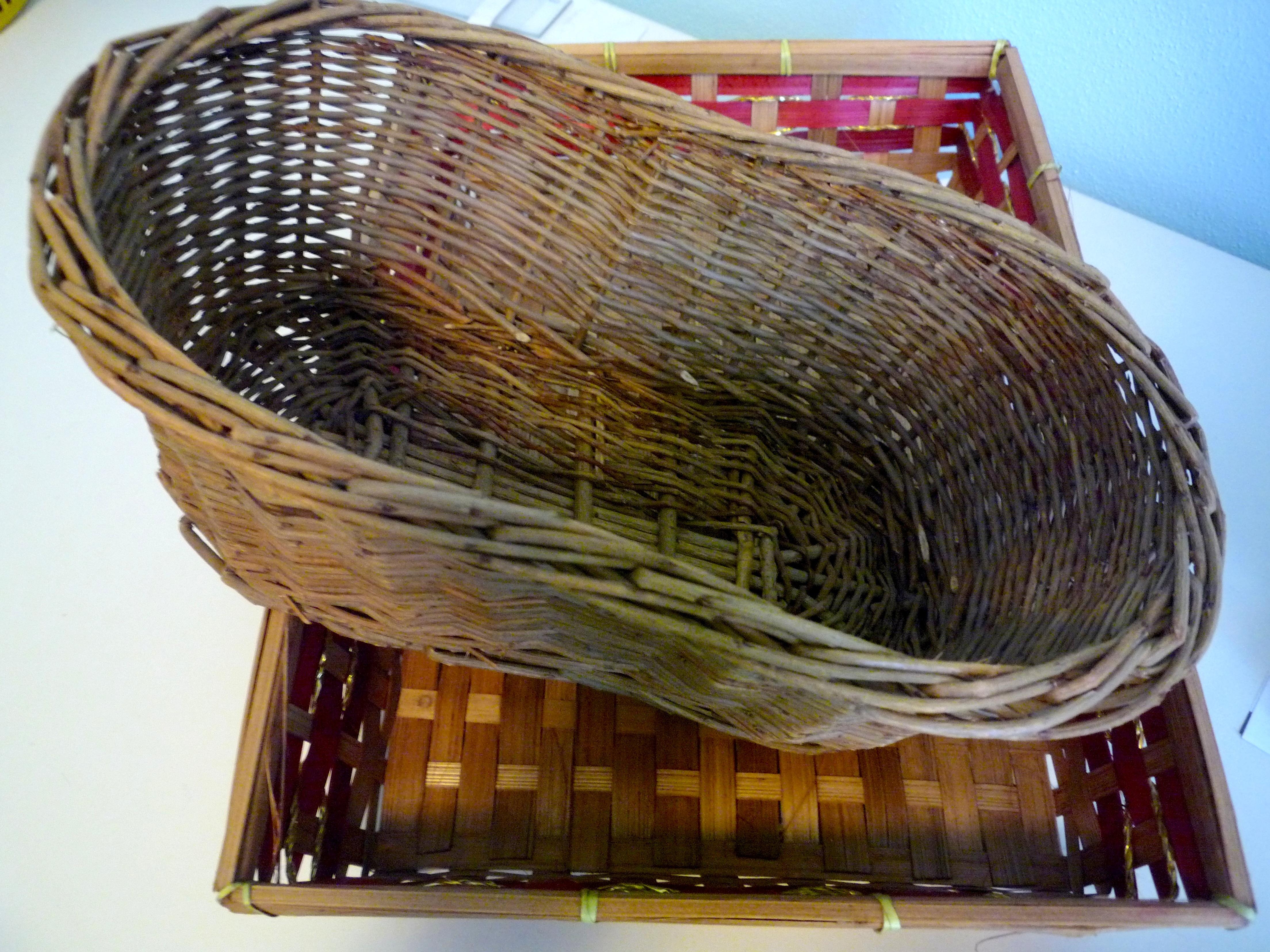 Cestini Da Lavoro Per Cucito riciclo creativo: cestini di vimini per la cameretta – lucia